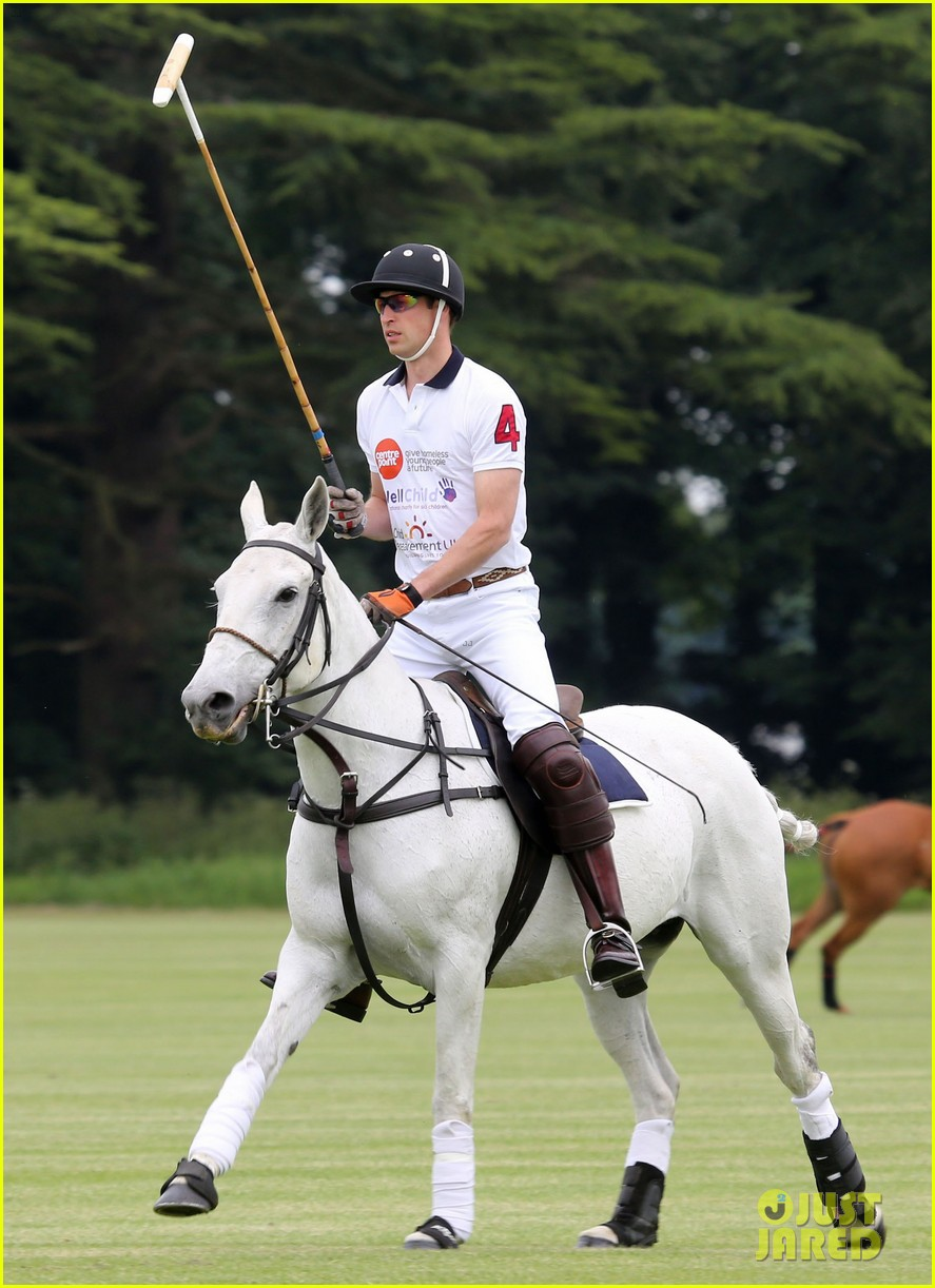 kate middleton prince george william polo match 183135945