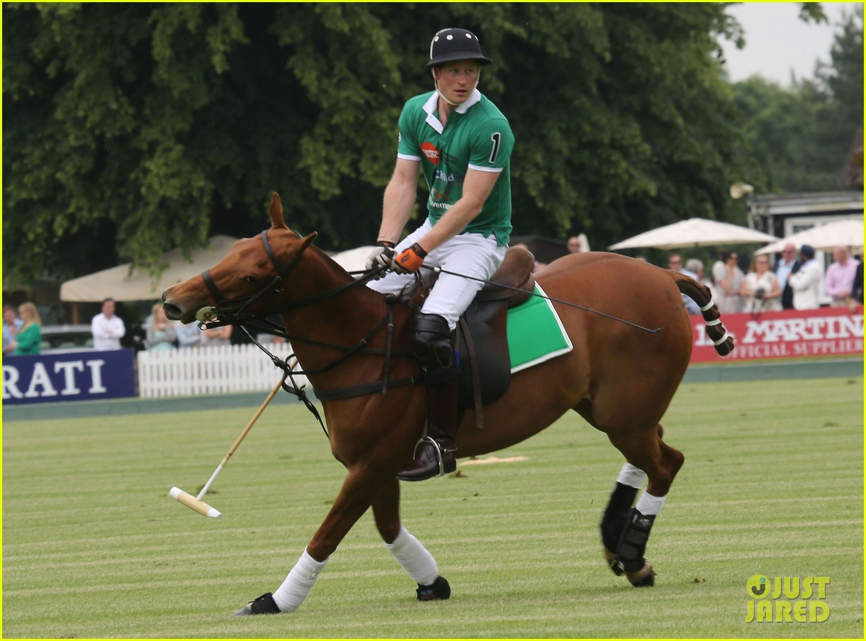 kate middleton prince george william polo match 25