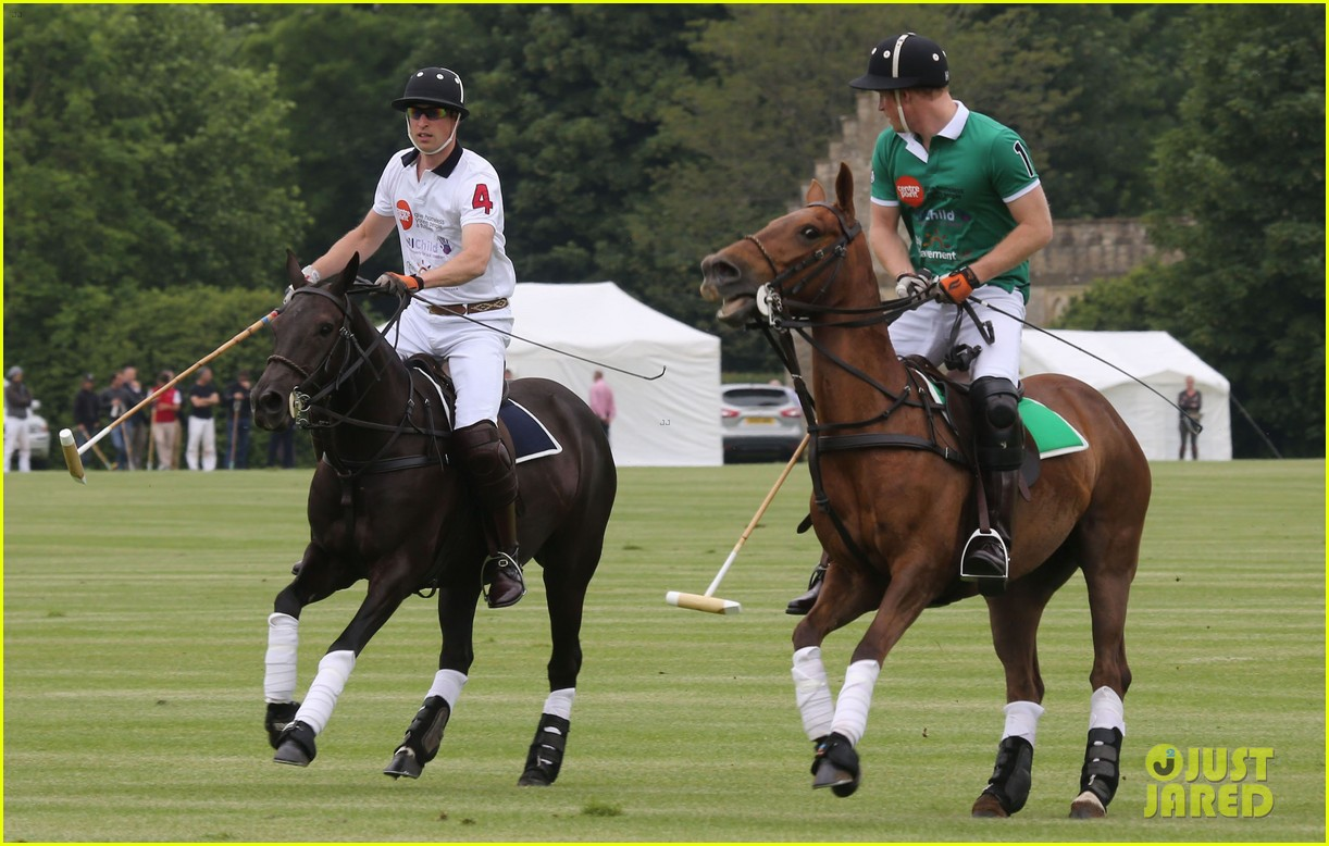 kate middleton prince george william polo match 283135955