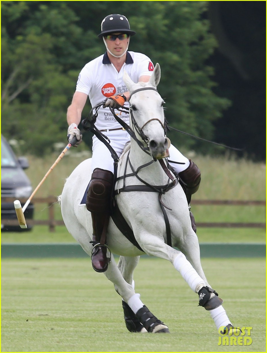 kate middleton prince george william polo match 29