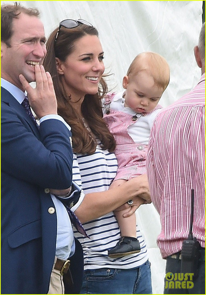 kate middleton prince george william polo match 34