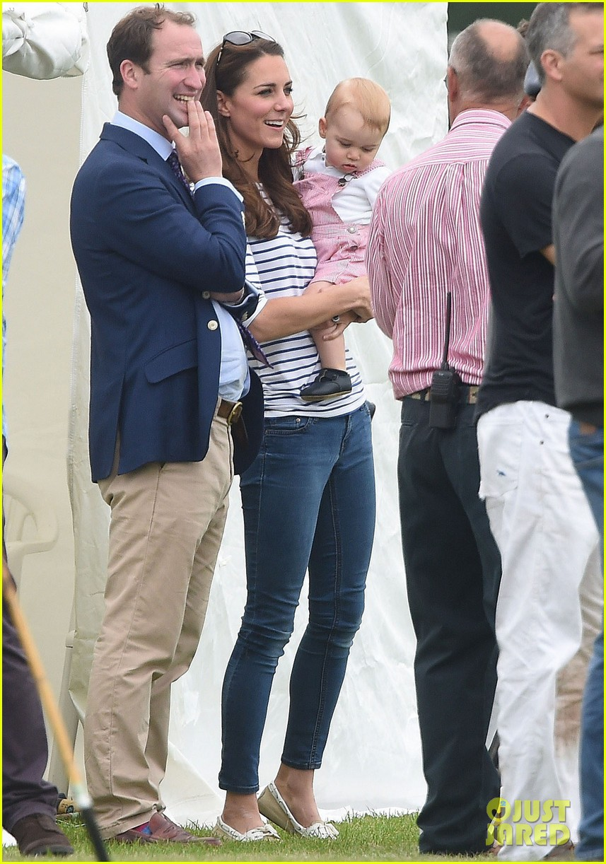 kate middleton prince george william polo match 363135963