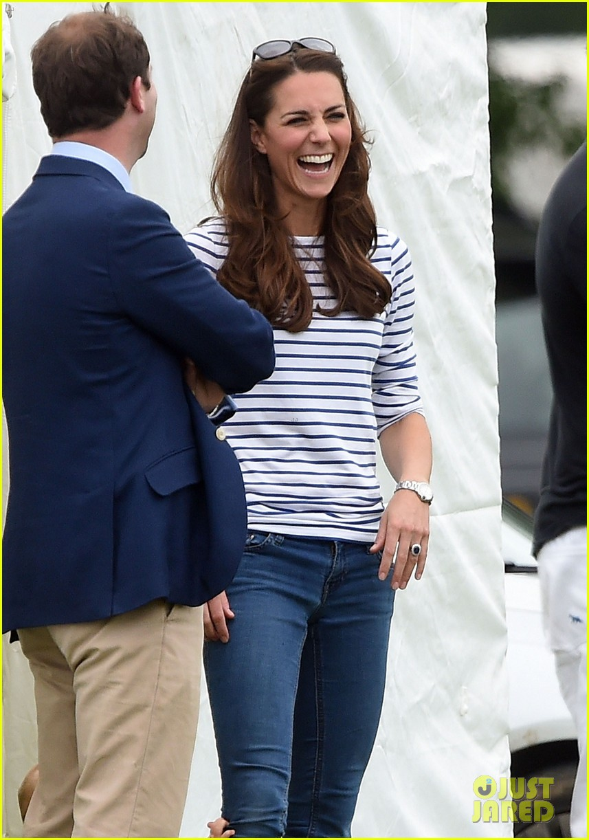 kate middleton prince george william polo match 373135964
