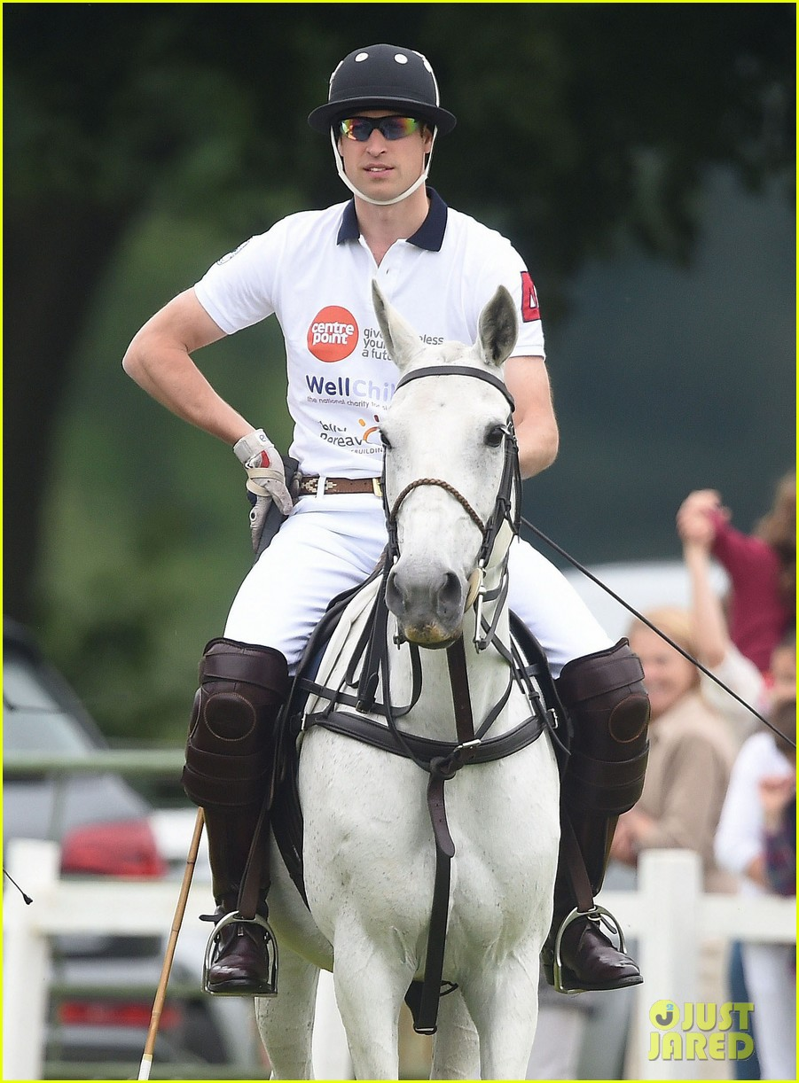 kate middleton prince george william polo match 39