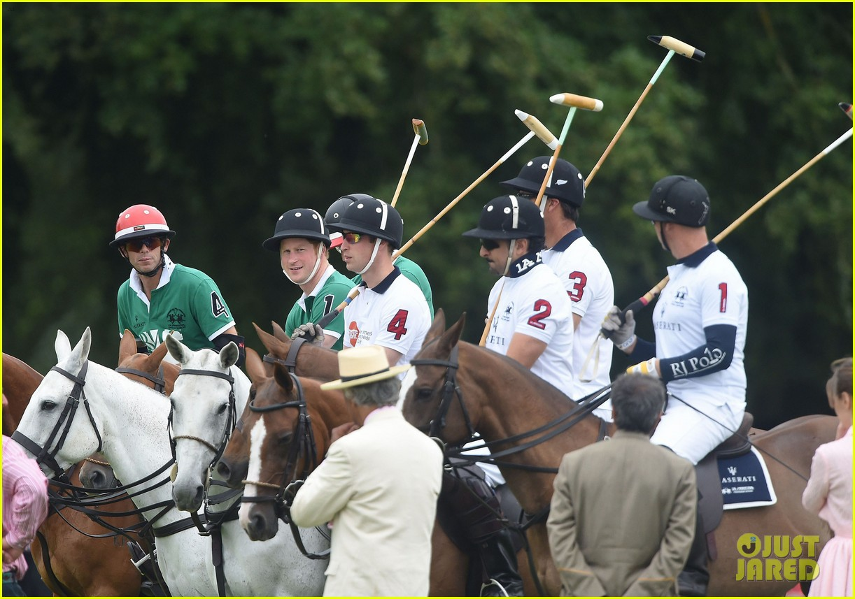 kate middleton prince george william polo match 433135970