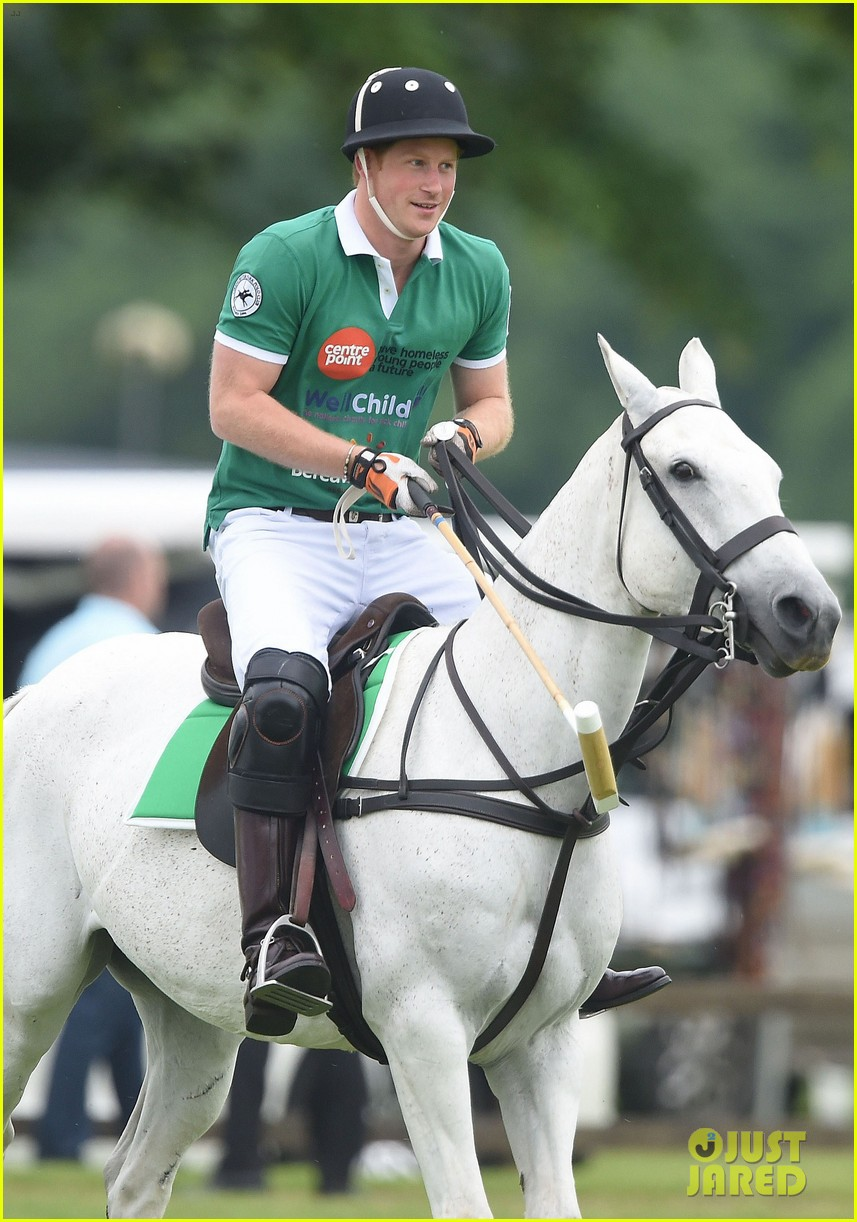kate middleton prince george william polo match 453135972