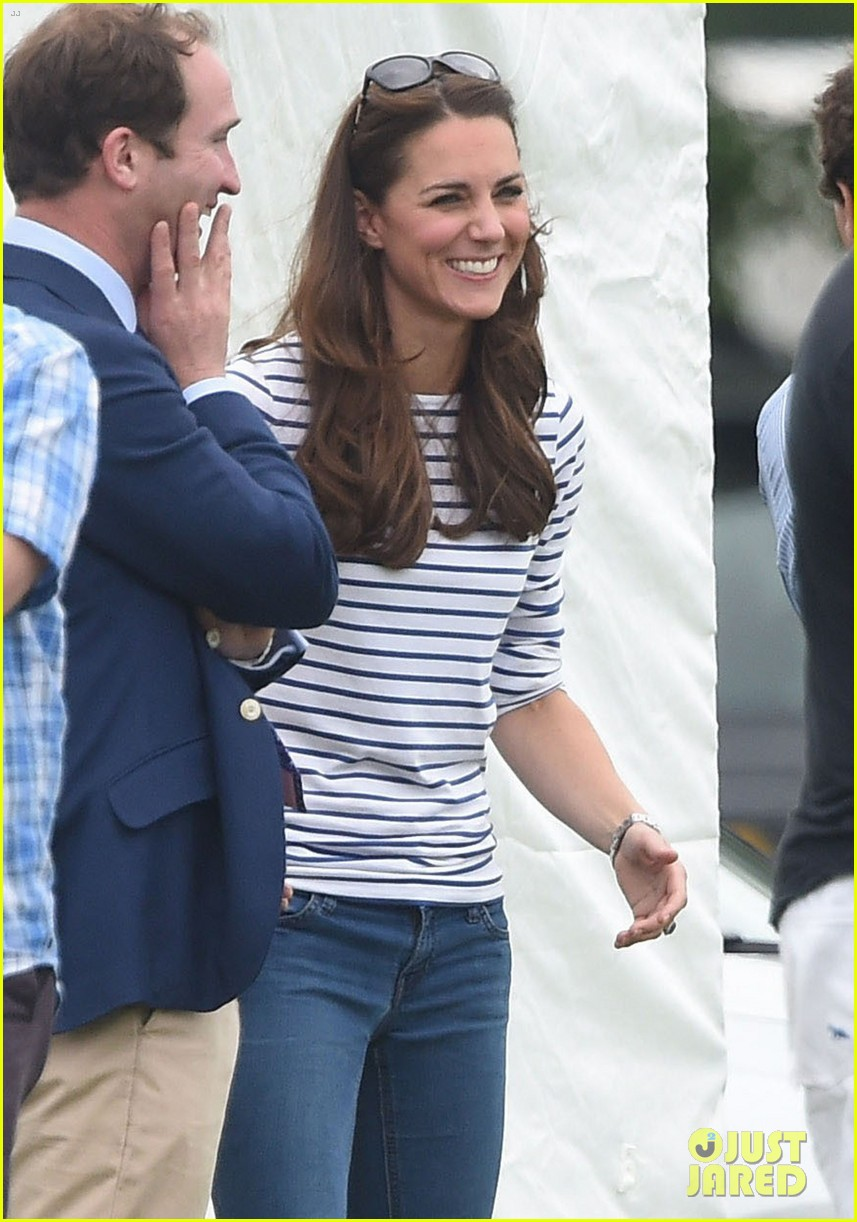 kate middleton prince george william polo match 473135974