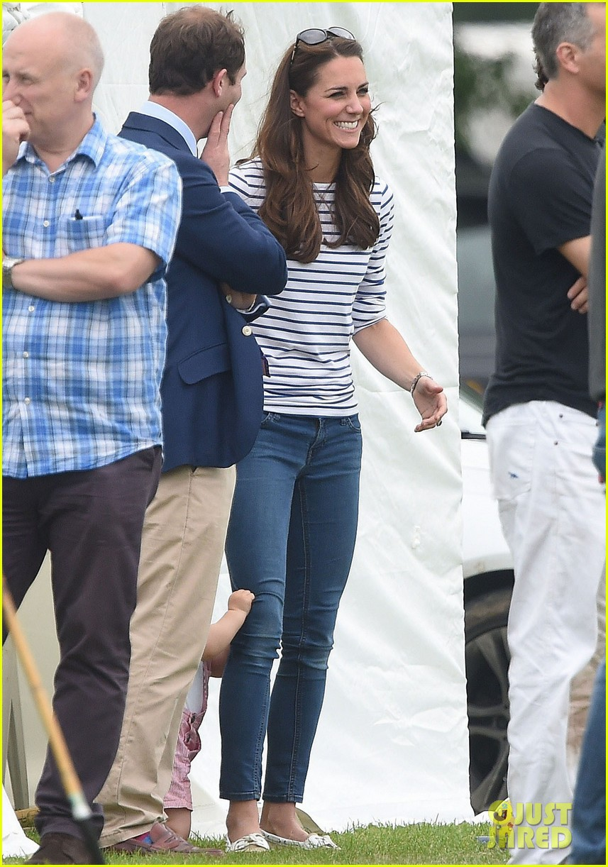 kate middleton prince george william polo match 483135975