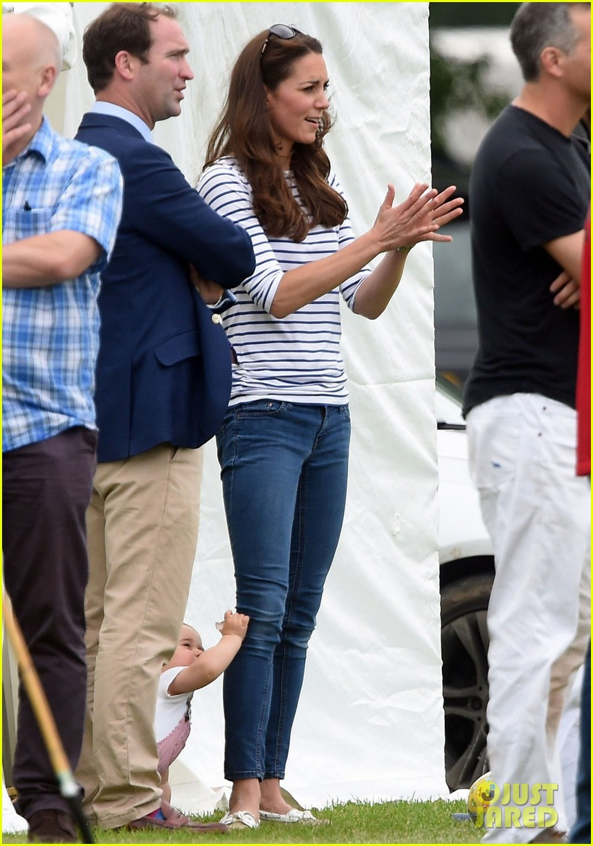 kate middleton prince george william polo match 493135976