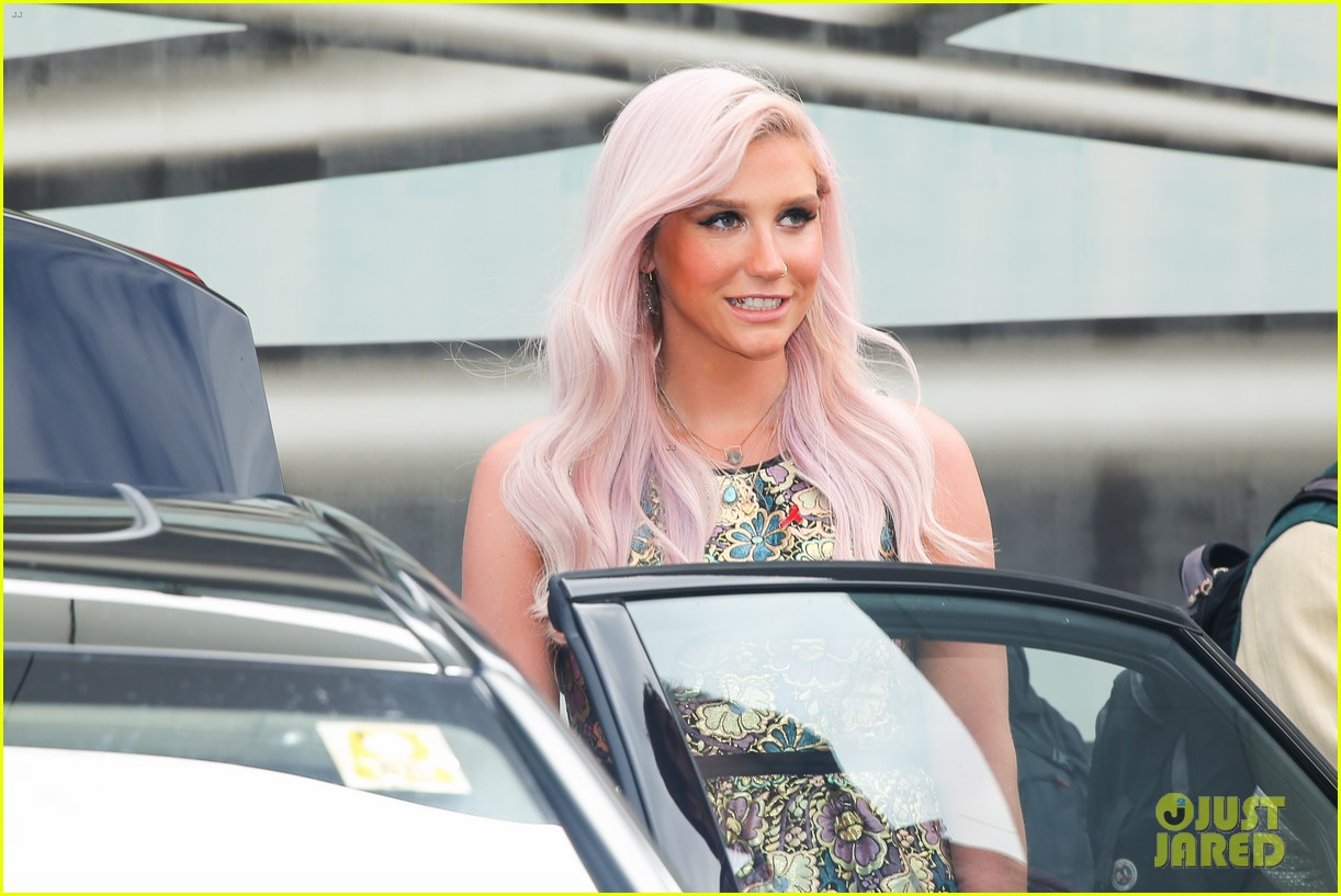 kesha jumps for joy after attending life ball in vienna 063125633