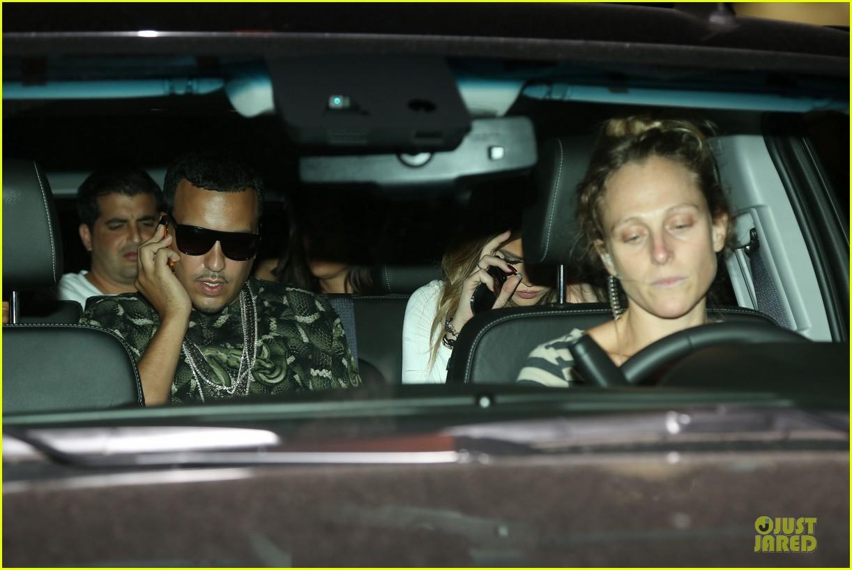 khloe kardashian white affair on 30th birthday dinner 093145205