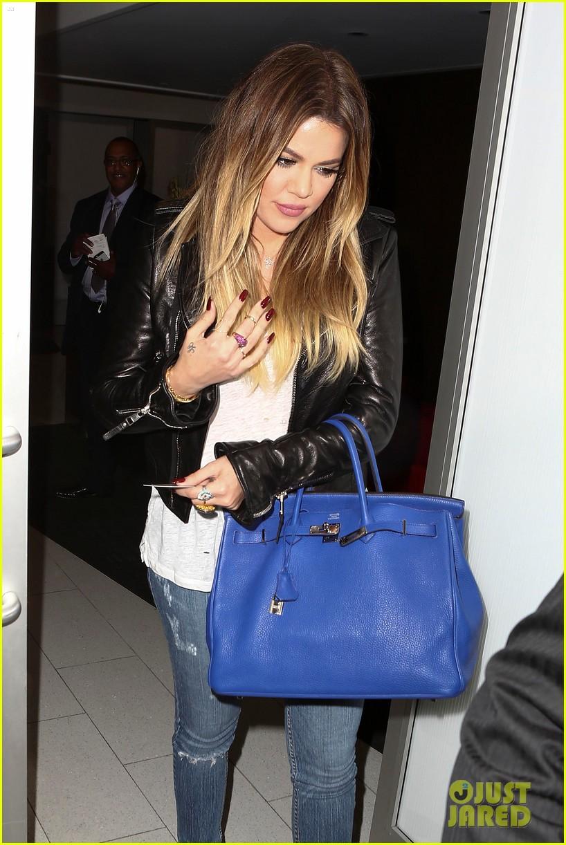 kim khloe kardashian take night flights out of lax 153142927