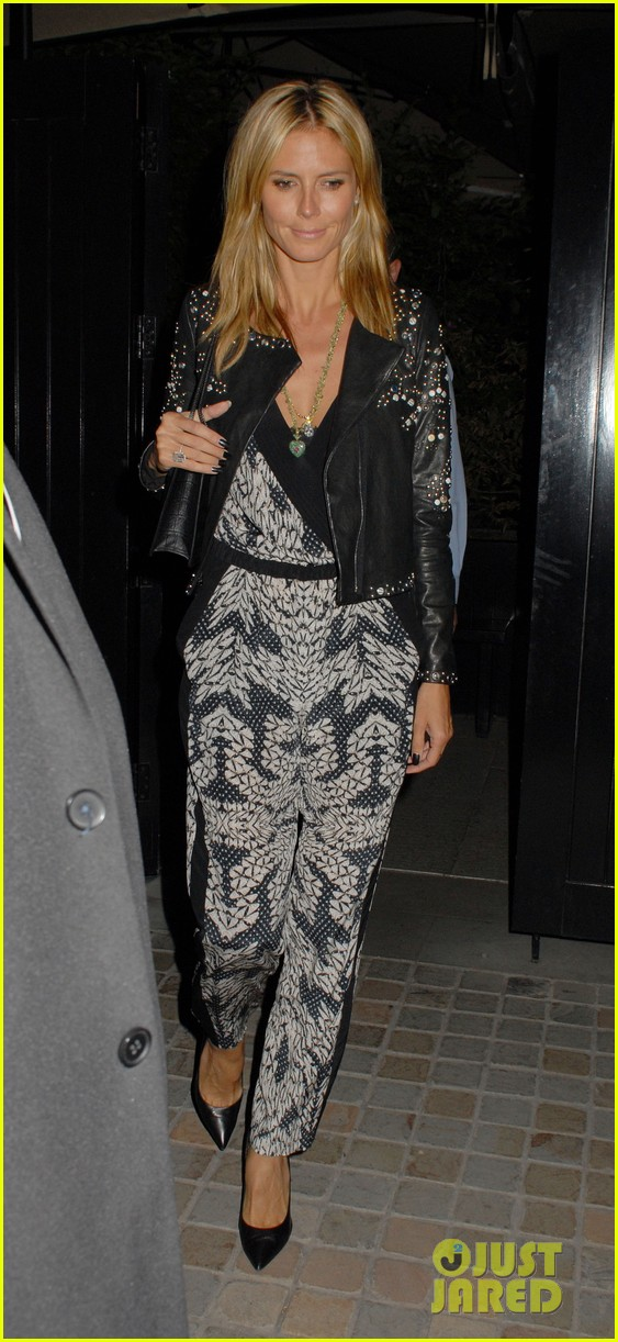 heidi klum parties at chiltern firehouse with beau vito schnabel 013141617