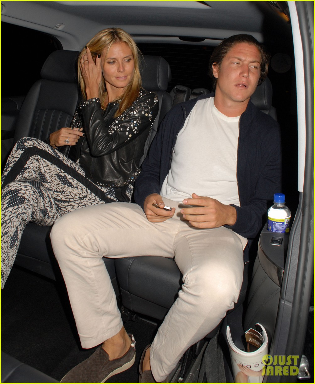 heidi klum parties at chiltern firehouse with beau vito schnabel 103141626