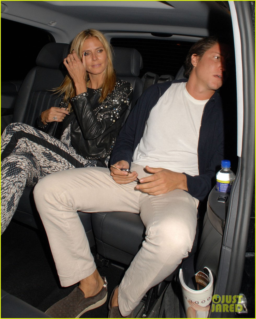 heidi klum parties at chiltern firehouse with beau vito schnabel 113141627