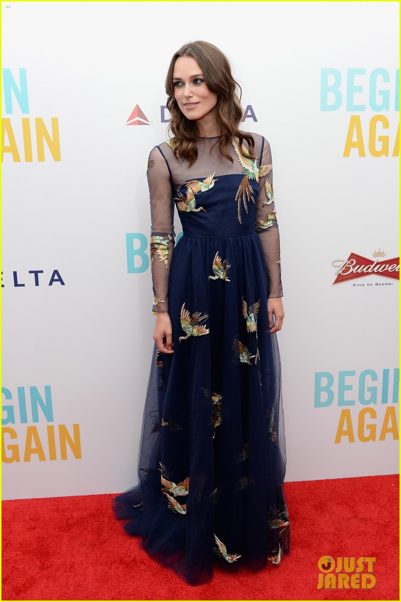 keira knightley james righton begin again premiere 07