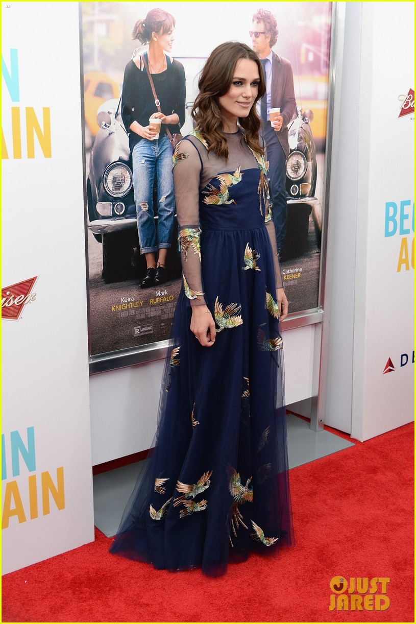 keira knightley james righton begin again premiere 11