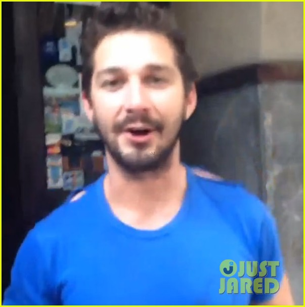 shia labeouf fan friendly before arrest 013144349