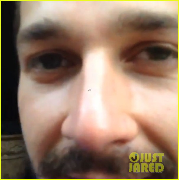 shia labeouf fan friendly before arrest 023144350