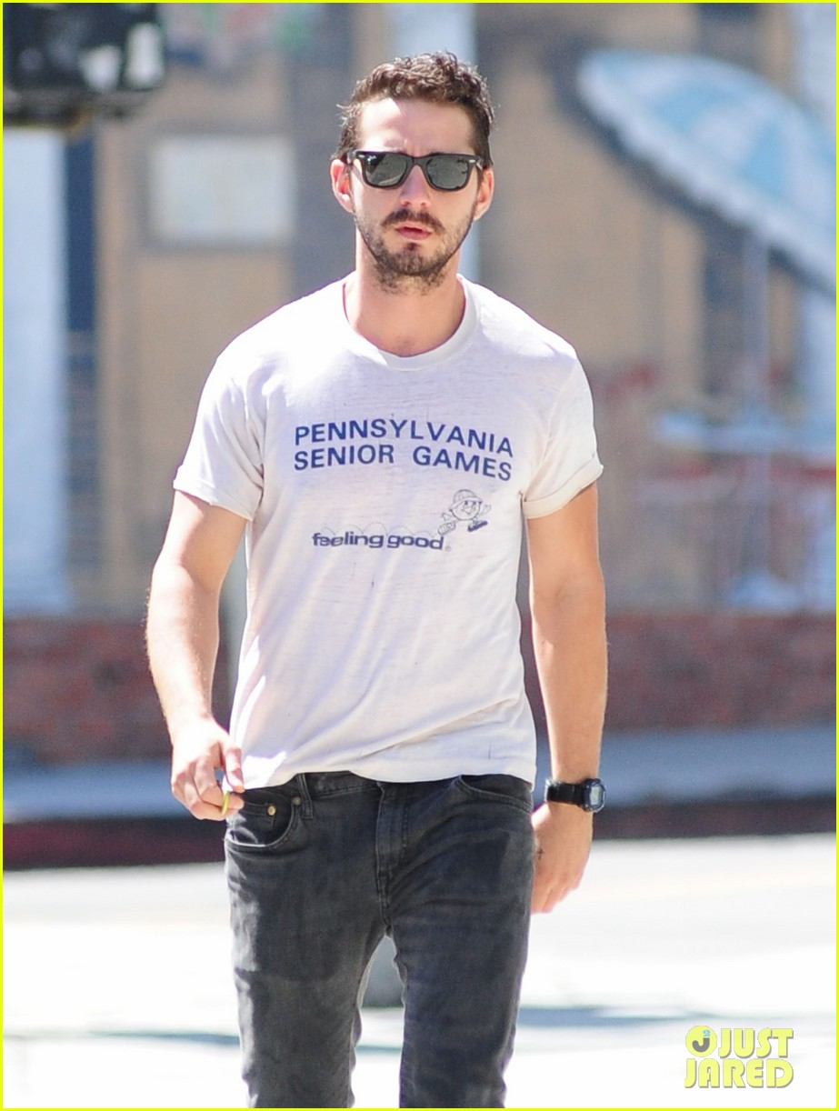 shia labeouf gym time vintage top 023140715