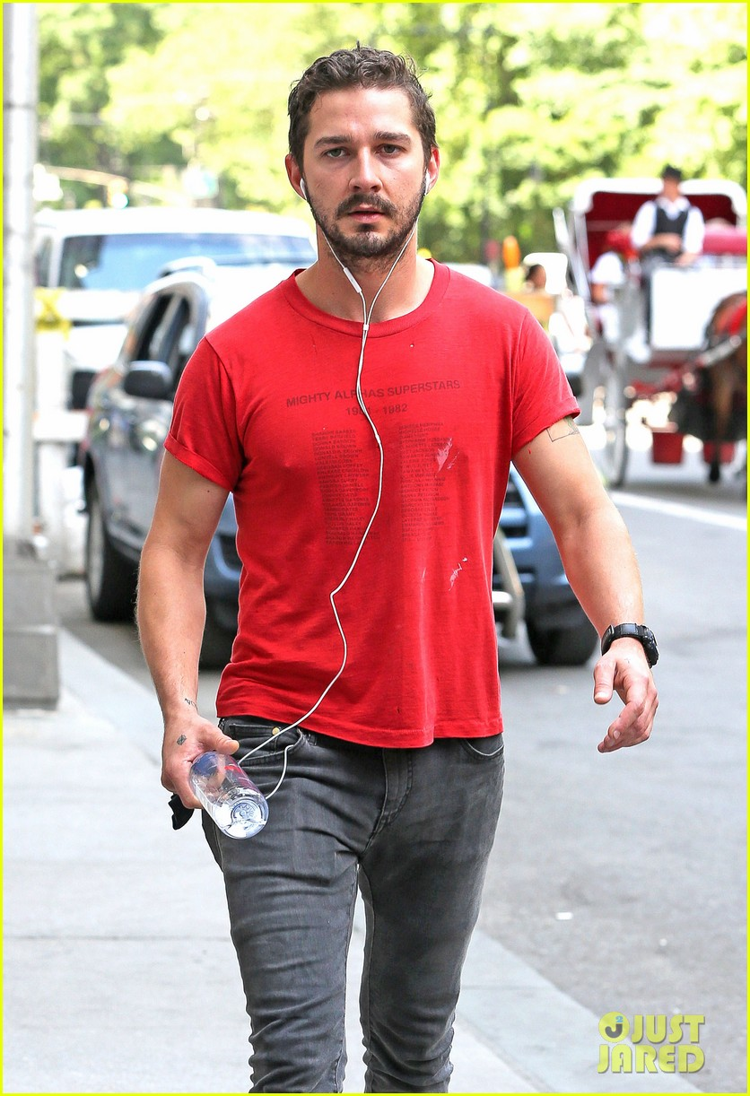 shia labeouf gym time vintage top 073140720