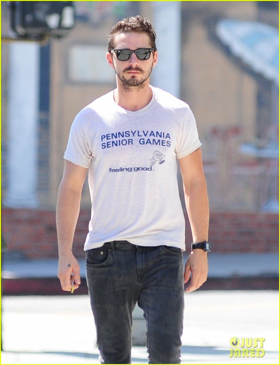 shia labeouf gym time vintage top 103140723