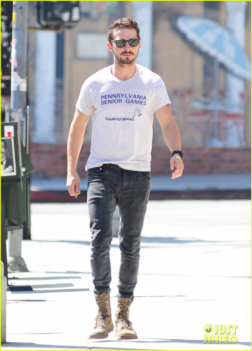 shia labeouf gym time vintage top 123140725
