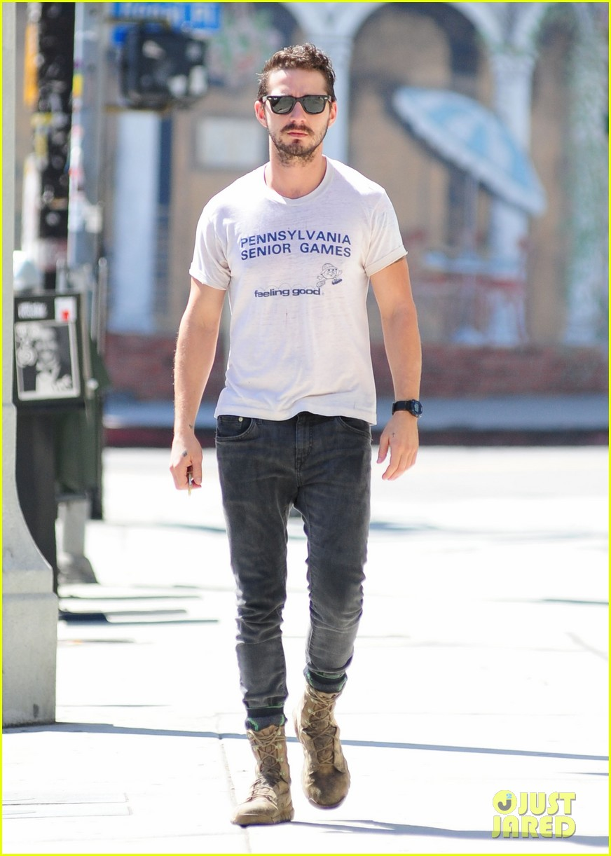 shia labeouf gym time vintage top 163140729