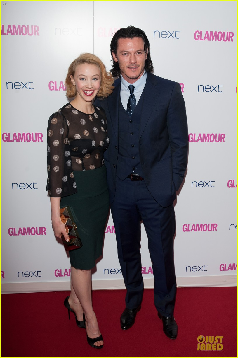 adam lambert luke evans presenters at glamour women of the year awards 04
