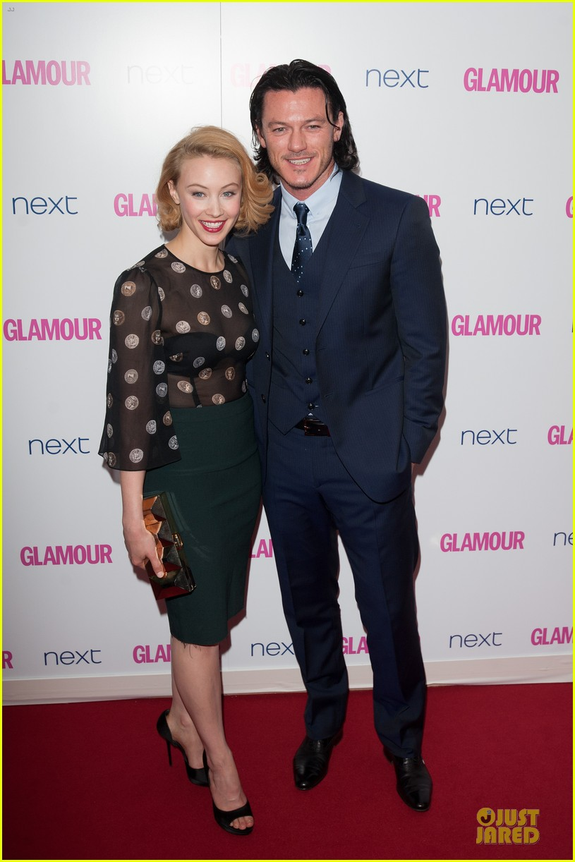 adam lambert luke evans presenters at glamour women of the year awards 05