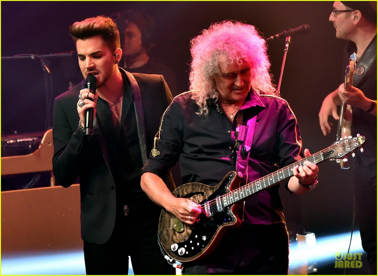 adam lambert queen tour at iheart radio theater 023136912