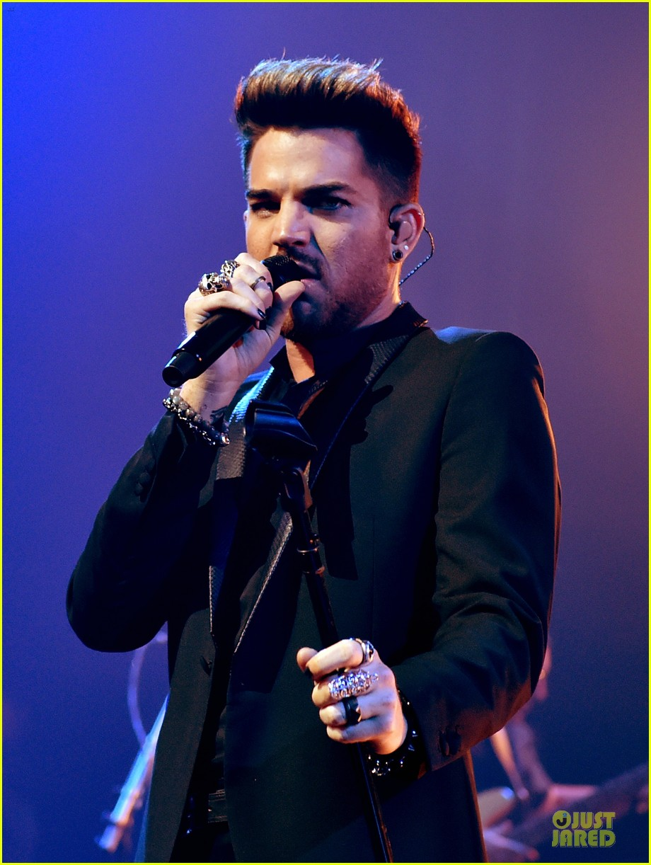 adam lambert queen tour at iheart radio theater 043136914