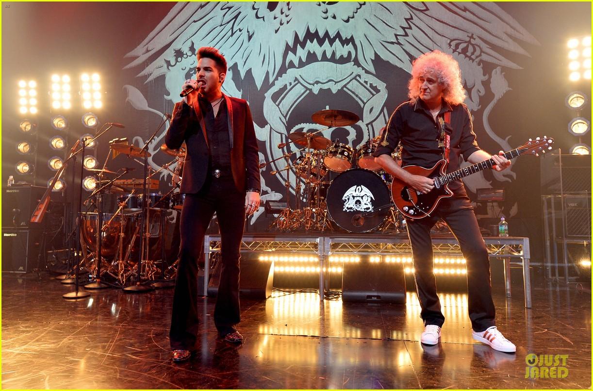 adam lambert queen tour at iheart radio theater 053136915