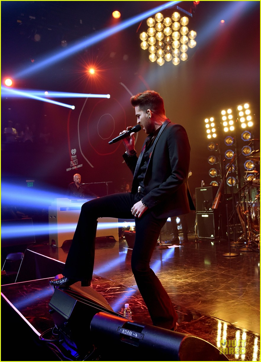 adam lambert queen tour at iheart radio theater 093136919