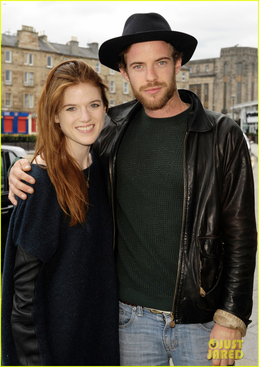 rose leslie harry treadaway honeymoon edinburgh 053145760