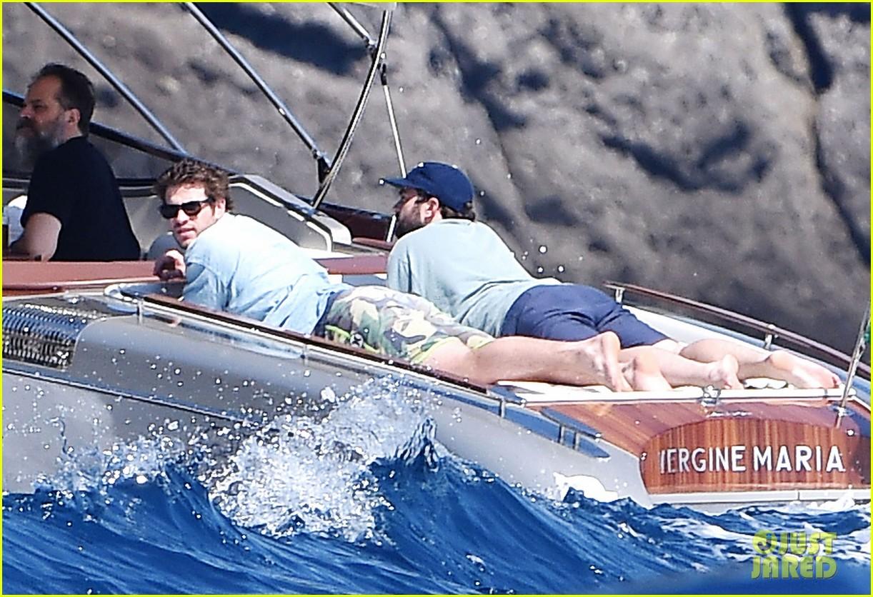 liam hemsworth takes a vacation in portofino 083144845