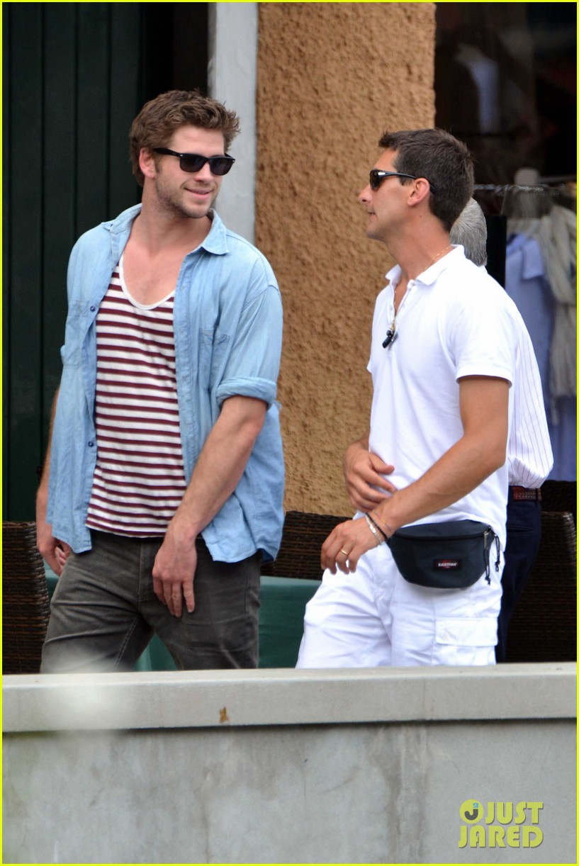 liam hemsworth takes a vacation in portofino 113144848