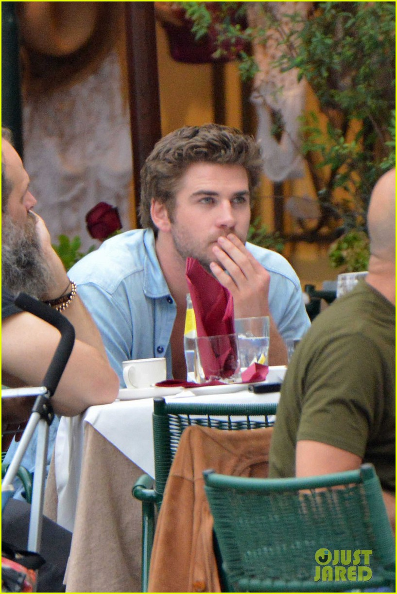 liam hemsworth takes a vacation in portofino 153144852