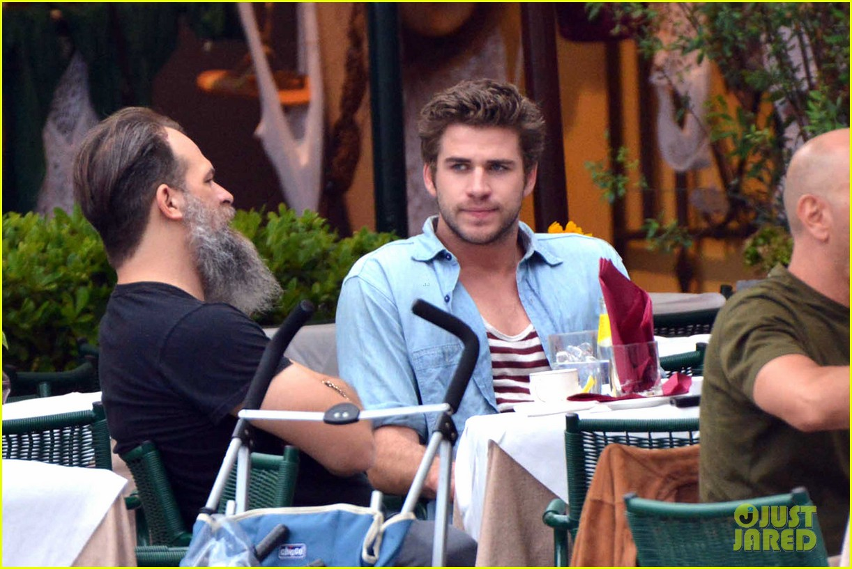liam hemsworth takes a vacation in portofino 163144853