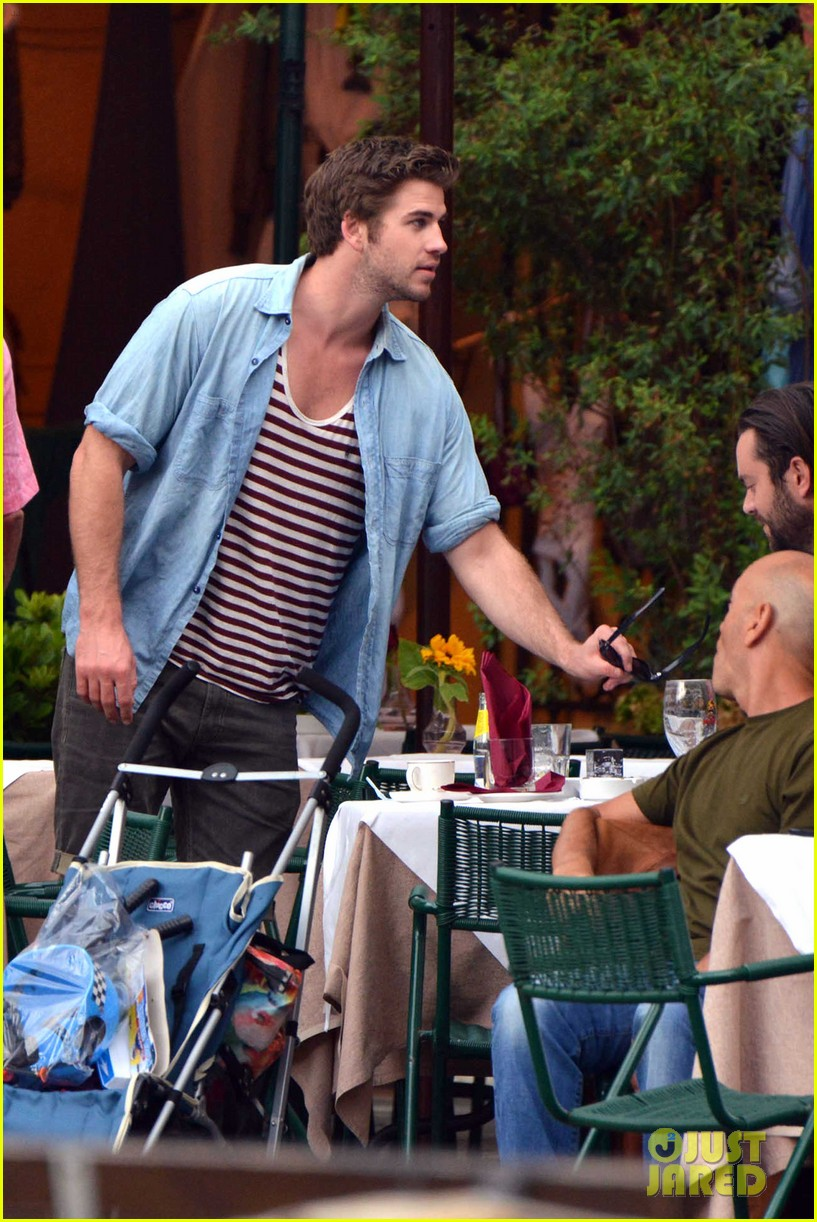 liam hemsworth takes a vacation in portofino 183144855