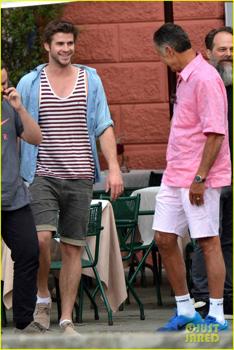 liam hemsworth takes a vacation in portofino 193144856