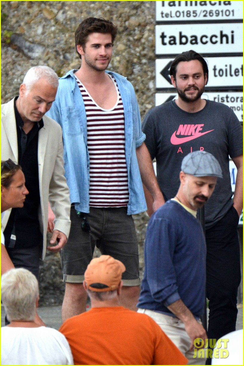 liam hemsworth takes a vacation in portofino 223144859