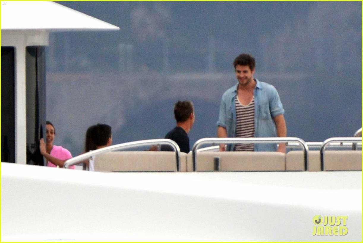liam hemsworth takes a vacation in portofino 273144864