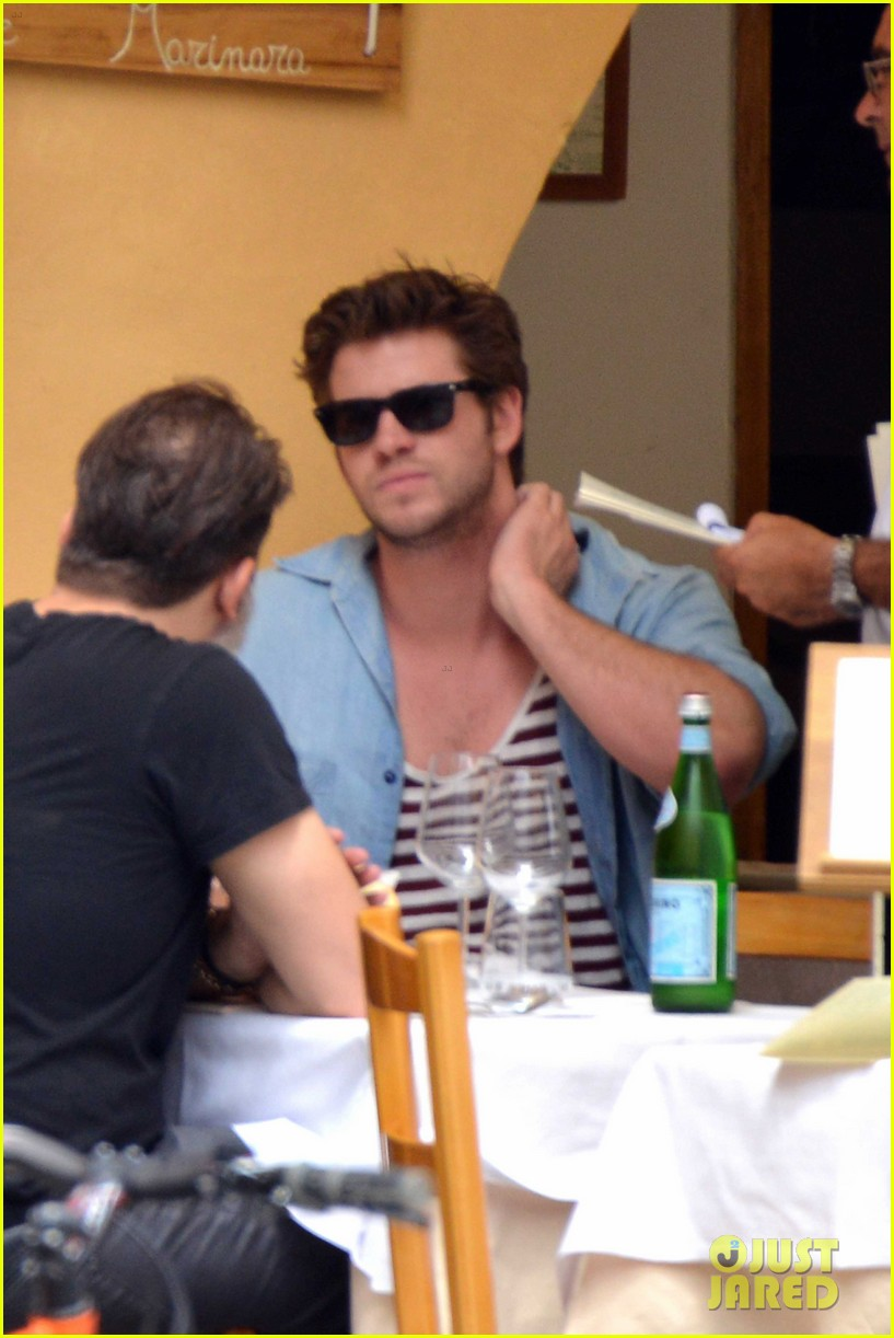 liam hemsworth takes a vacation in portofino 293144866