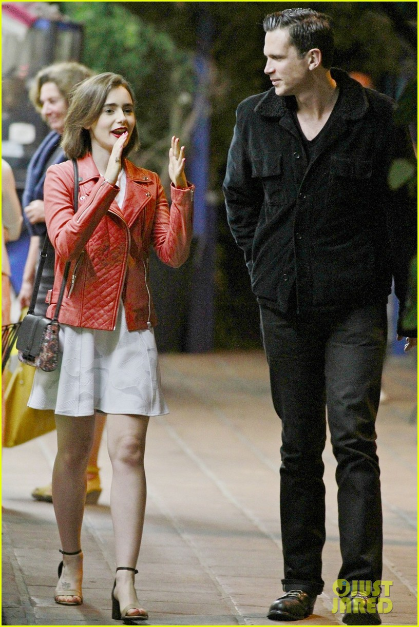 lily collins ashley hamilton sparks romance rumors 053144089