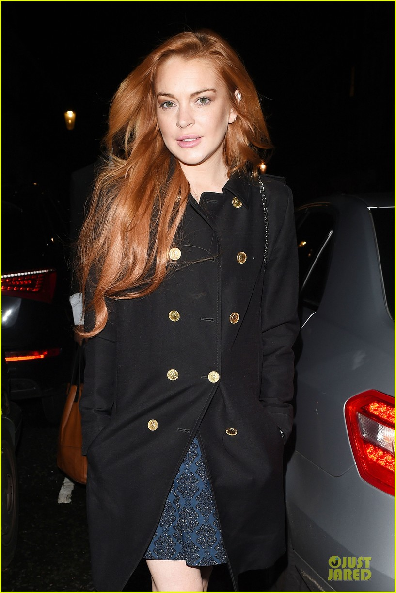 lindsay lohan change it up for dinner 043132768