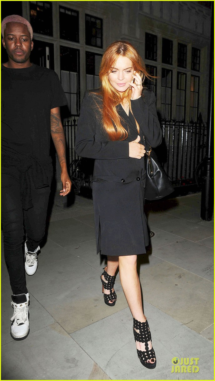 lindsay lohan thrilled to be in part of speed the plow 013145469