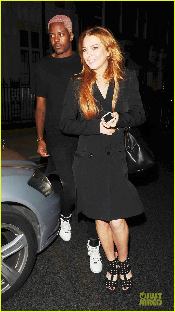 lindsay lohan thrilled to be in part of speed the plow 033145471