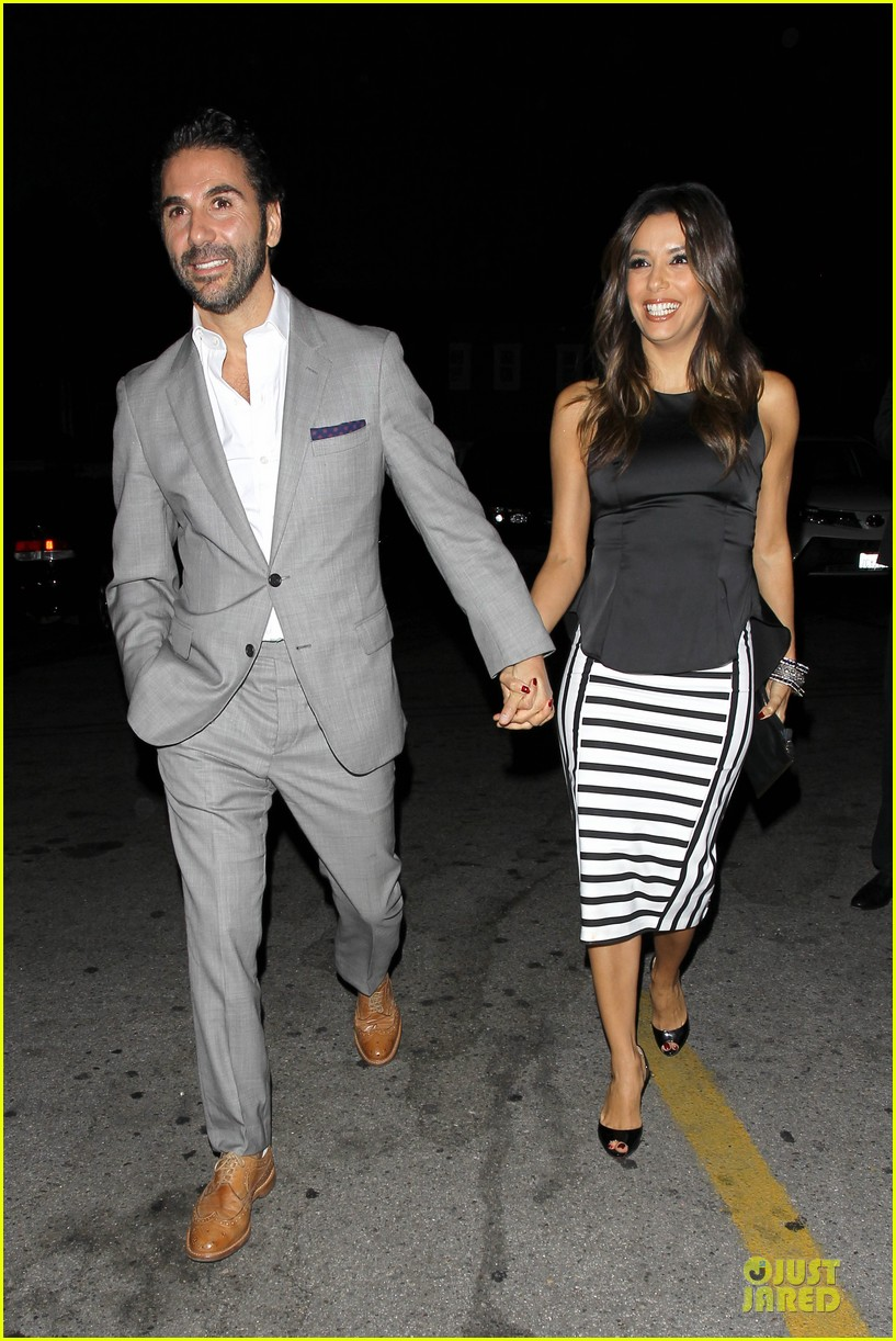 eva longoria beaming with jose baston presence 103135407