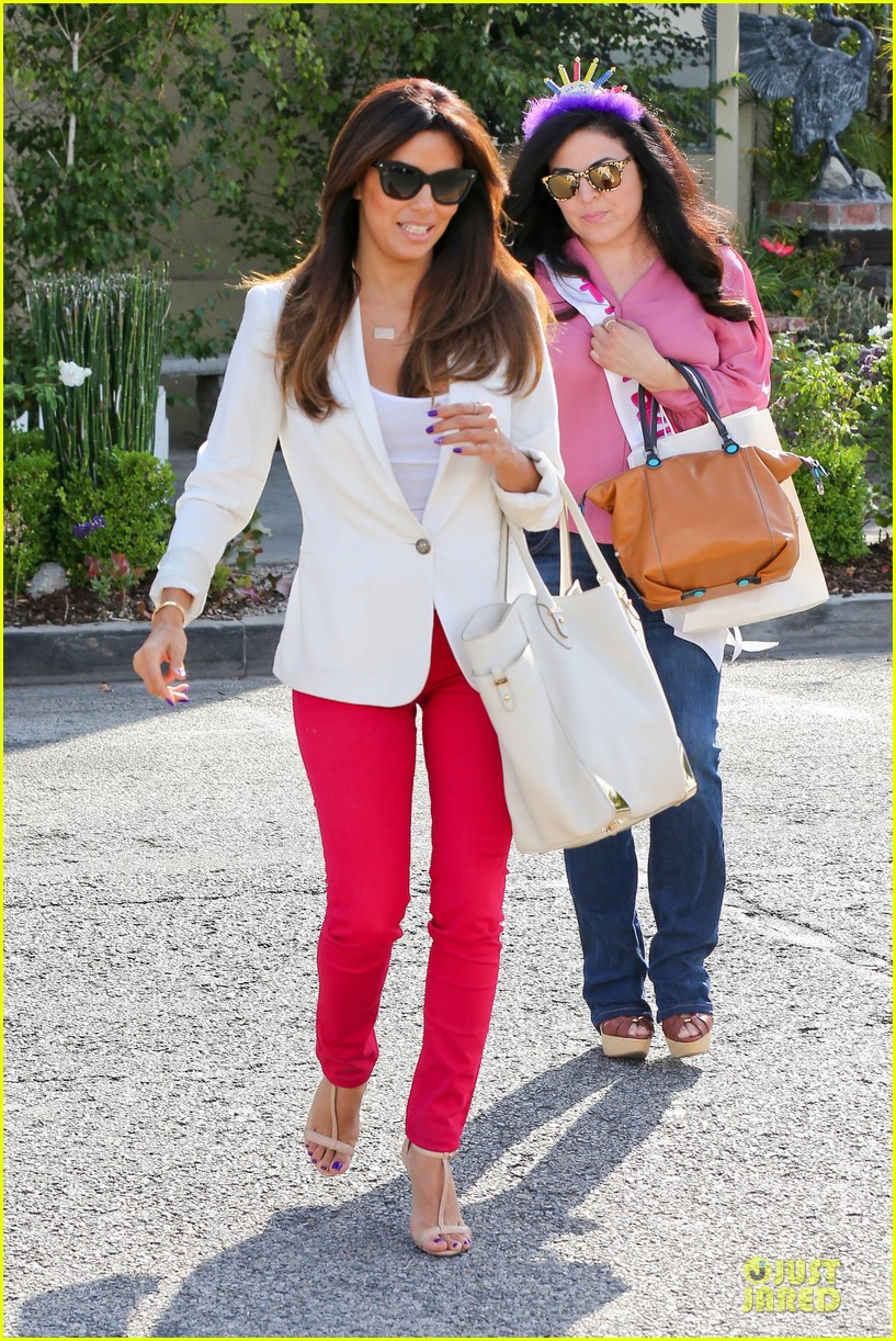 eva longoria pampers sister lucky for birthday 063145063